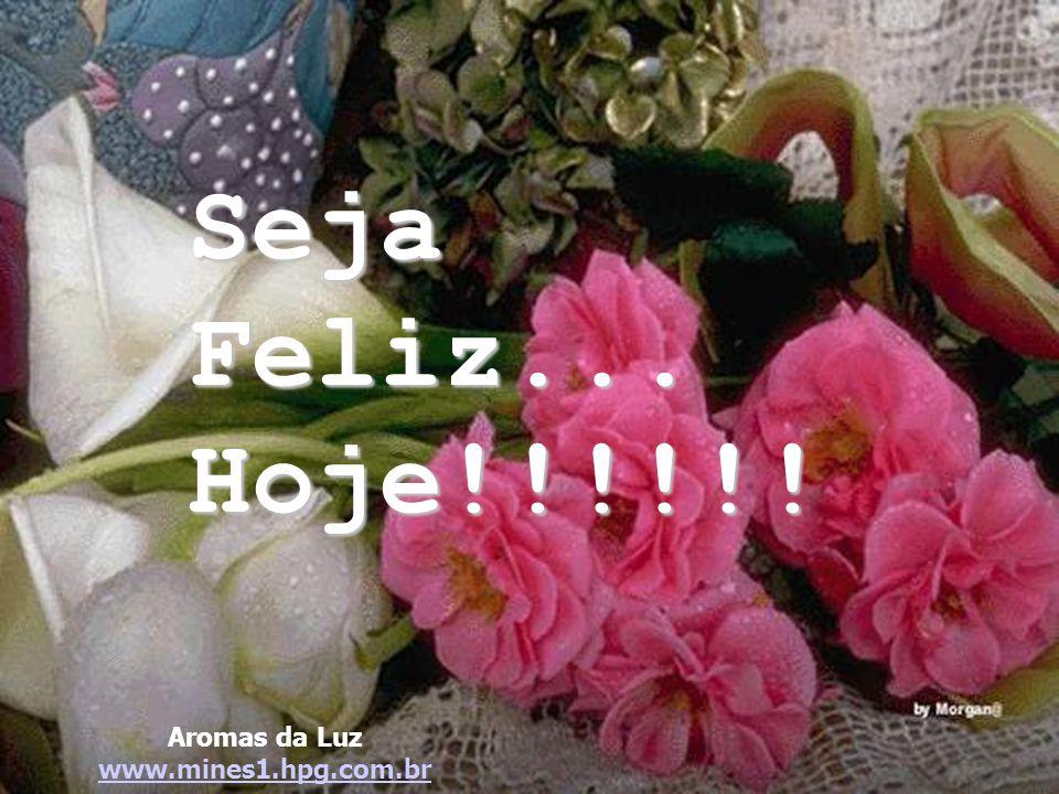 Seja Feliz... Hoje!!!!!! Aromas da Luz www.mines1.hpg.com.br