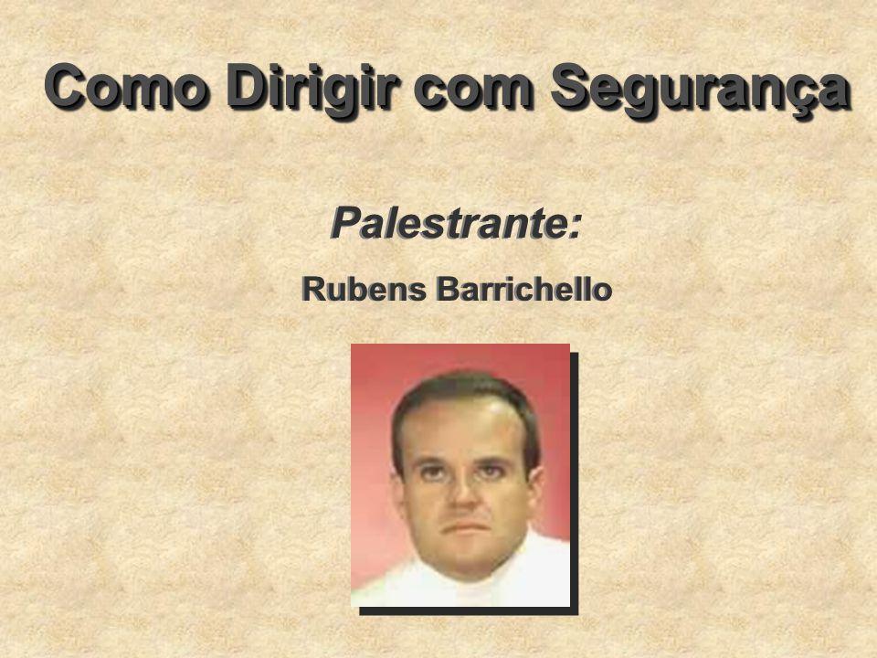 Como Dirigir com Segurança Palestrante: Rubens Barrichello