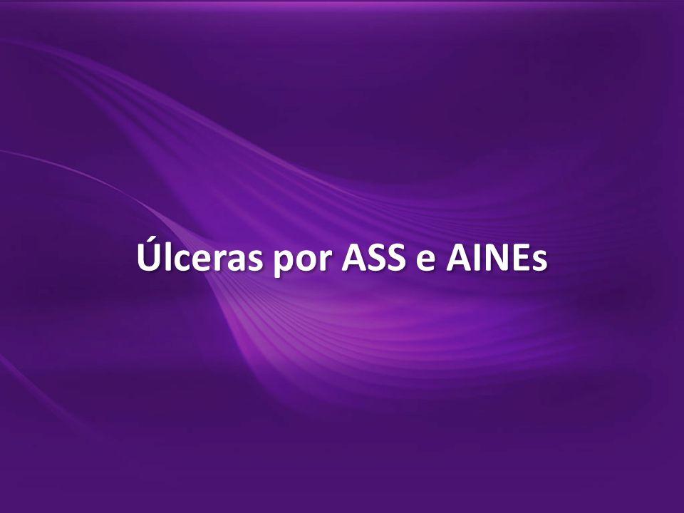 Úlceras por ASS e AINEs