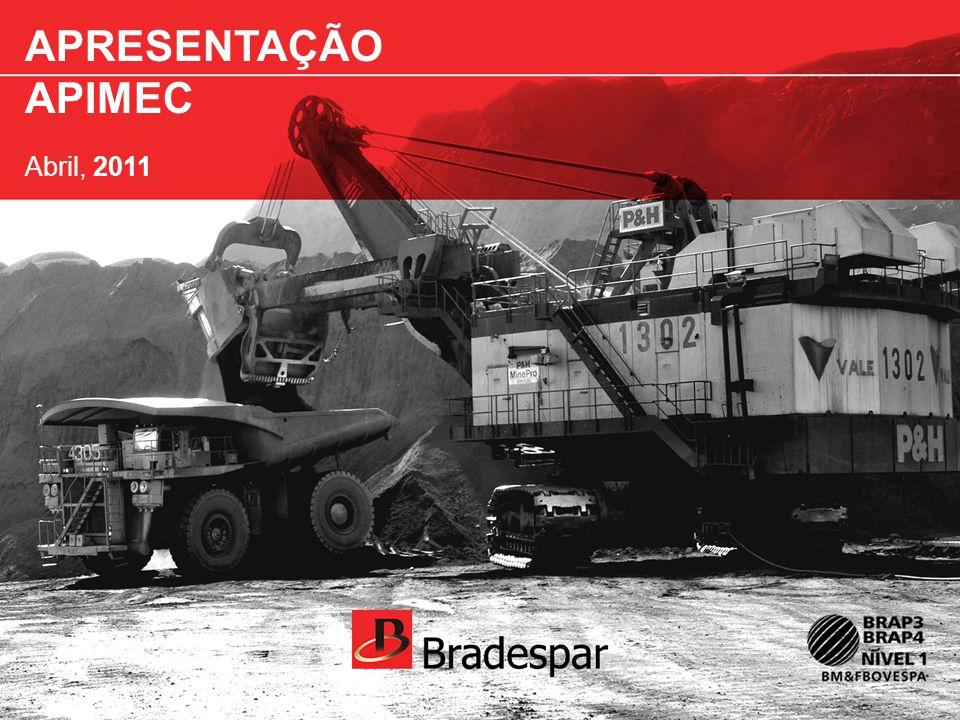 Institucional APRESENTAÇÃO APIMEC Abril, 2011