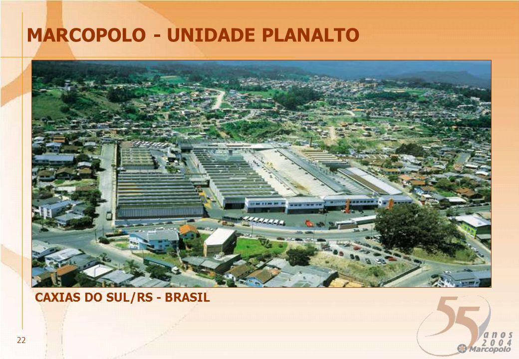 CAXIAS DO SUL/RS - BRASIL MARCOPOLO - UNIDADE PLANALTO 22