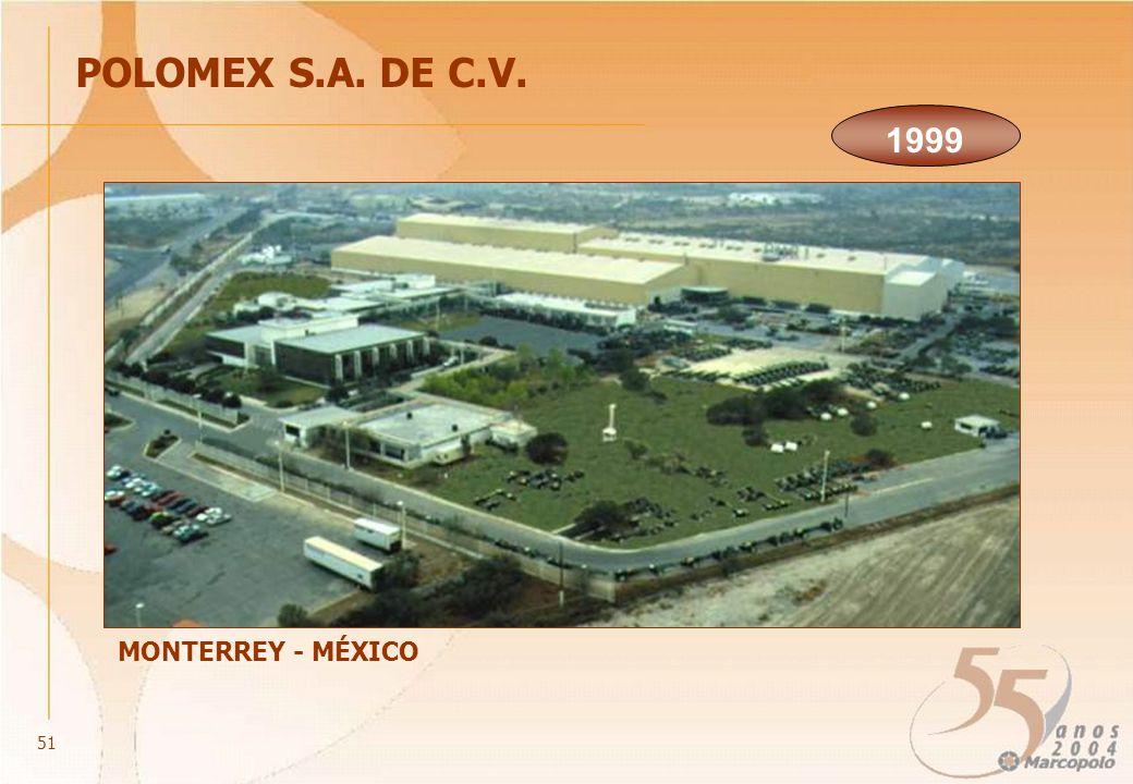 POLOMEX S.A. DE C.V. MONTERREY - MÉXICO 1999 51