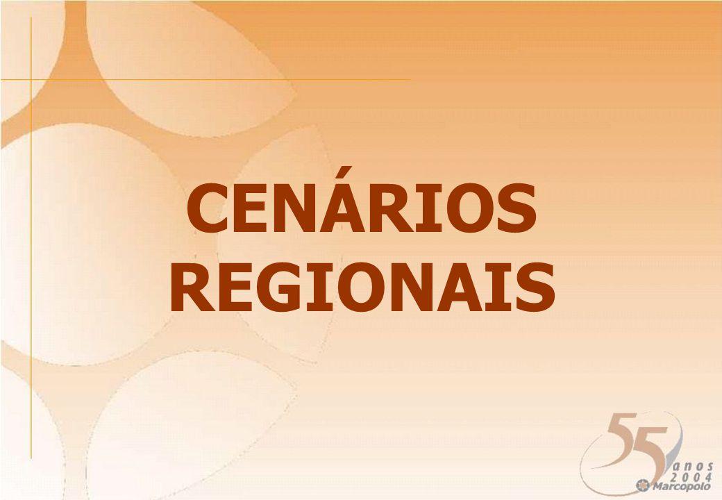 CENÁRIOS REGIONAIS