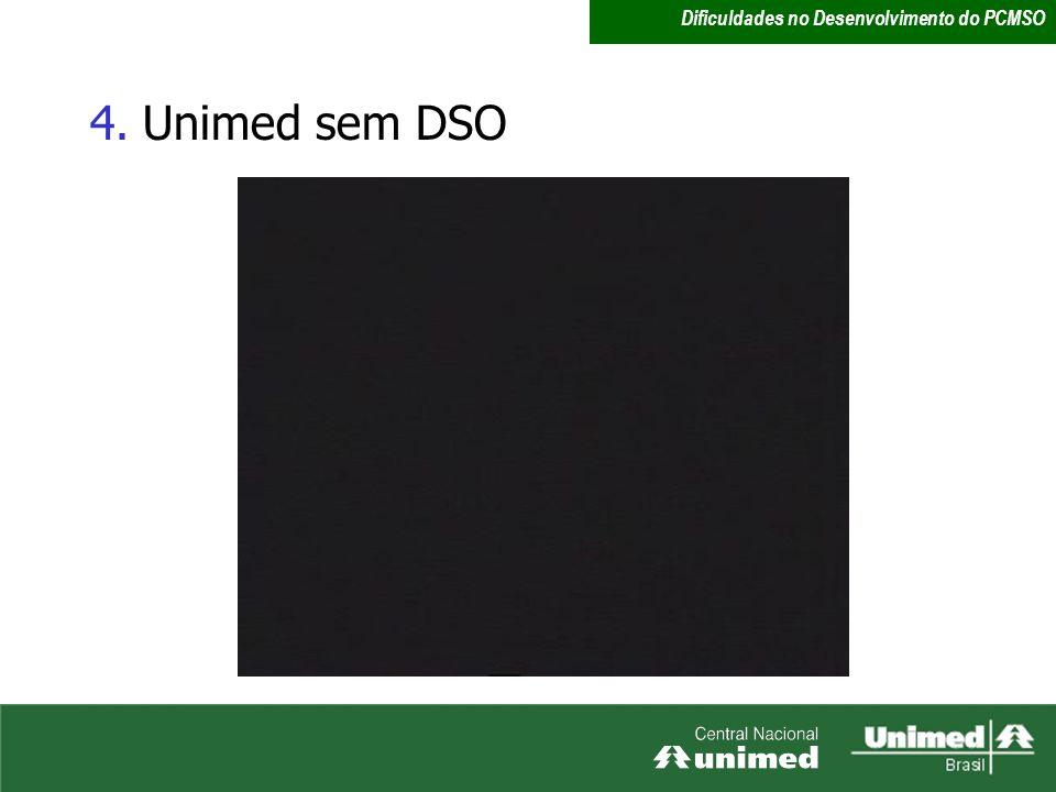 4.Unimed sem DSO Dificuldades no Desenvolvimento do PCMSO