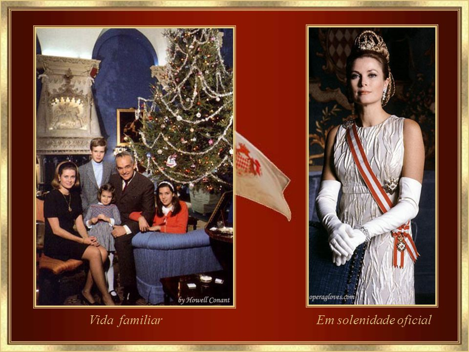 Príncipe e Princesa de Mônaco Foto oficial