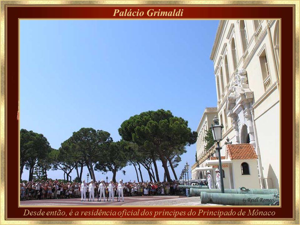Principado de Mônaco Os Grimaldi, família de exilados de origem genovesa, em 8.12.1297 ligou-se à fortaleza de Mônaco – então colônia de Gênova - e co
