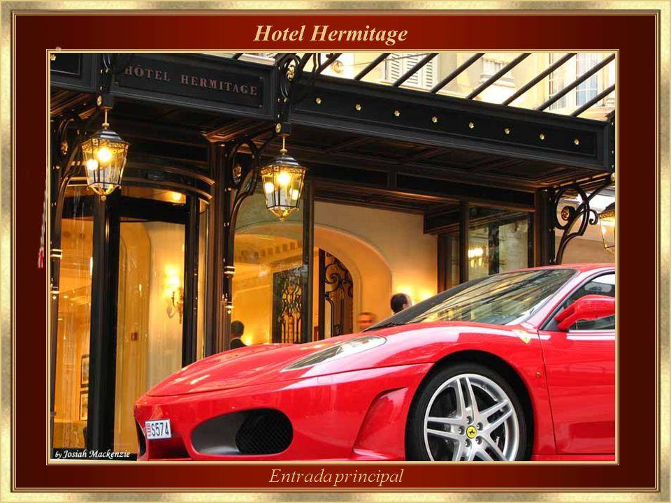 Hotel Hermitage Um dos hotéis mais tradicionais e requintados de Mônaco