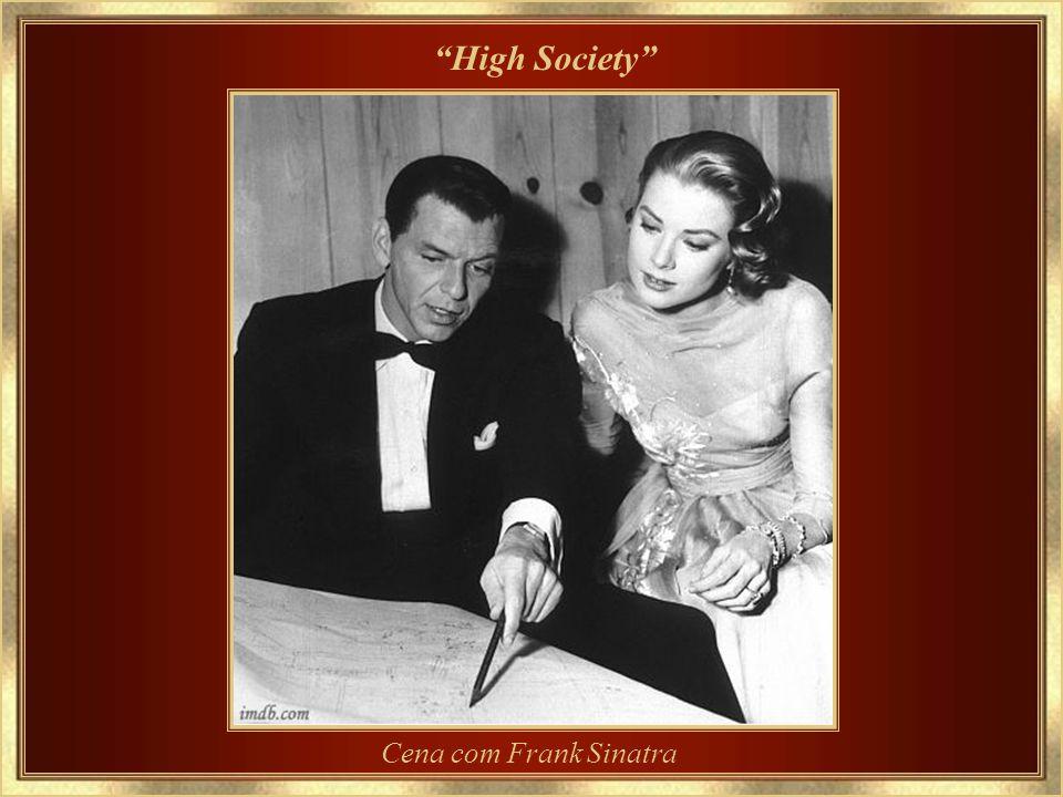 1956 - Último filme High Society – cena com Luis Armstrong