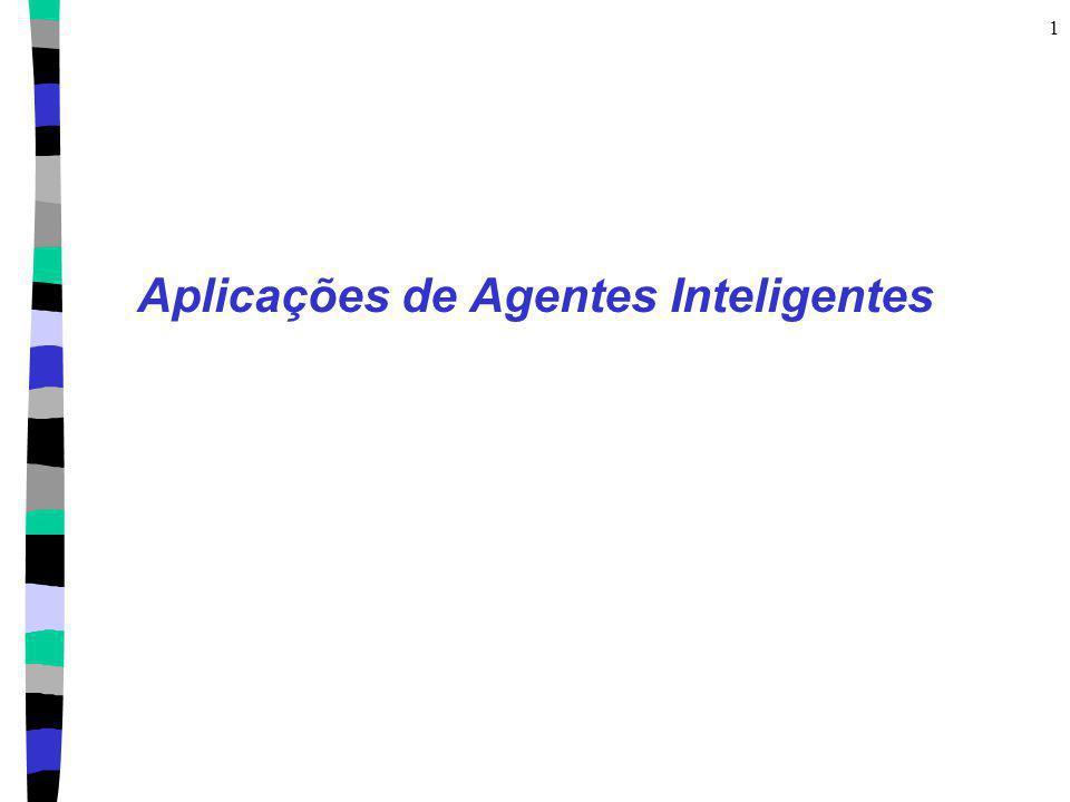 1 Aplicações de Agentes Inteligentes