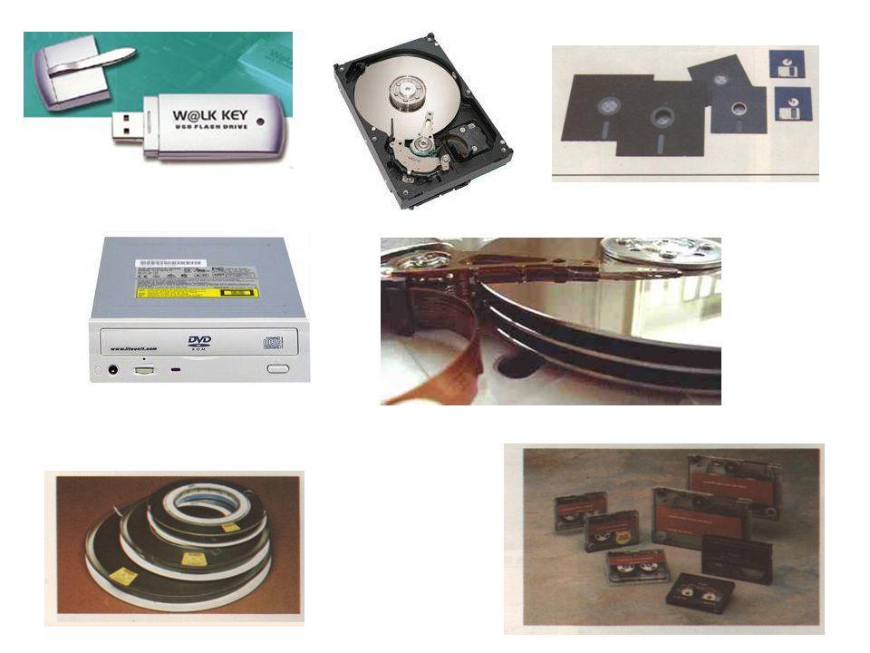 Espaço As organizações armazenam o equivalente a uma sala cheia de dados em discos menores do que uma caixa para guardar pão.