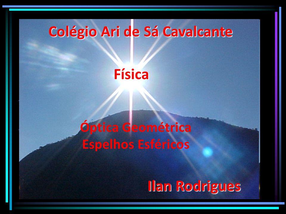 Óptica Geométrica Espelhos Esféricos Colégio Ari de Sá Cavalcante Física Ilan Rodrigues