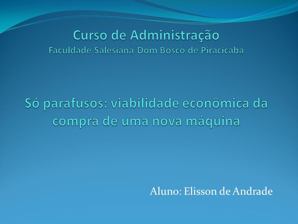 Aluno: Elisson de Andrade