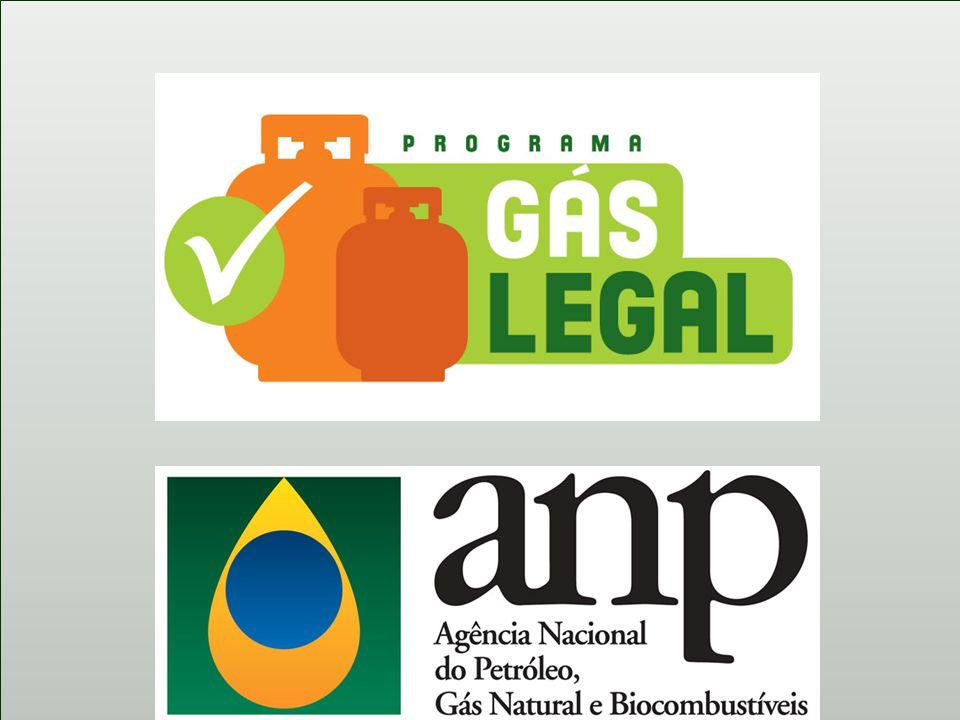 Programa Gás Legal -Mais de 7.200 pontos fiscalizados.