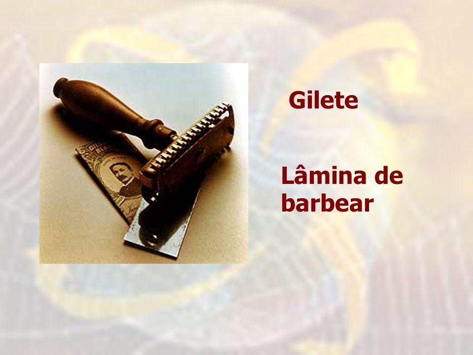 Gilete Lâmina de barbear