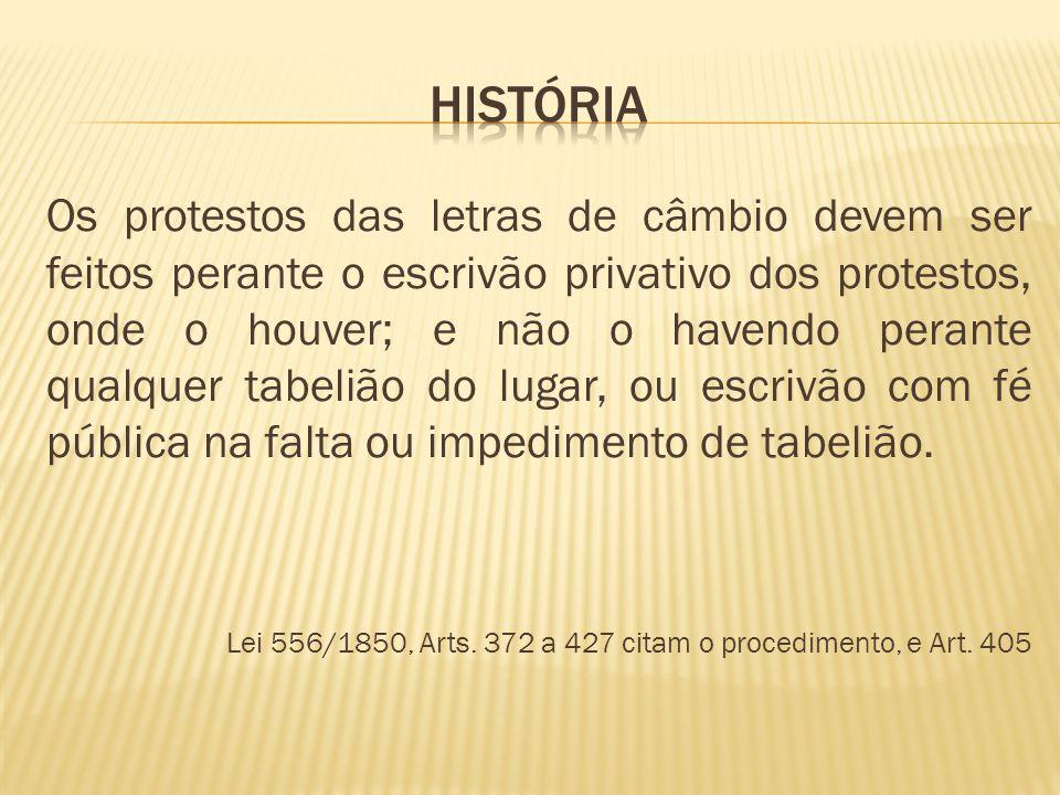 Lei 9.492, de 10 de Setembro de 1997 – Marco REGULATÓRIO no Brasil - Legislação específica sobre o PROTESTO - Juntamente com a legislação cambiária deve ser analisada sob a visão sistemática e não dogmática.