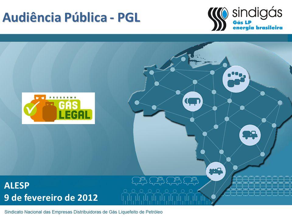 Audiência Pública - PGL ALESP 9 de fevereiro de 2012