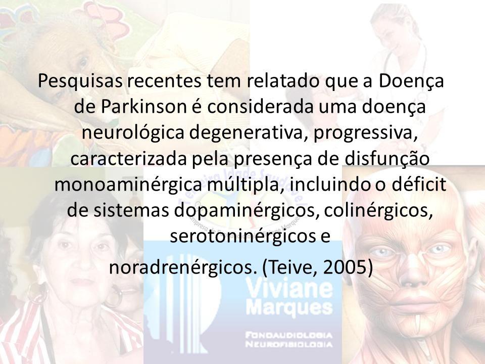 Braak et al.(2003), avaliaram do ponto de vista neuropatológico, o estadiamento da DP esporádica.