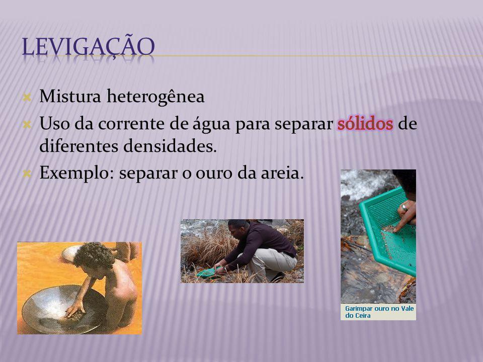 Processo muito utilizado, em lixões, para separar objetos de ferro que podem ser reciclados.