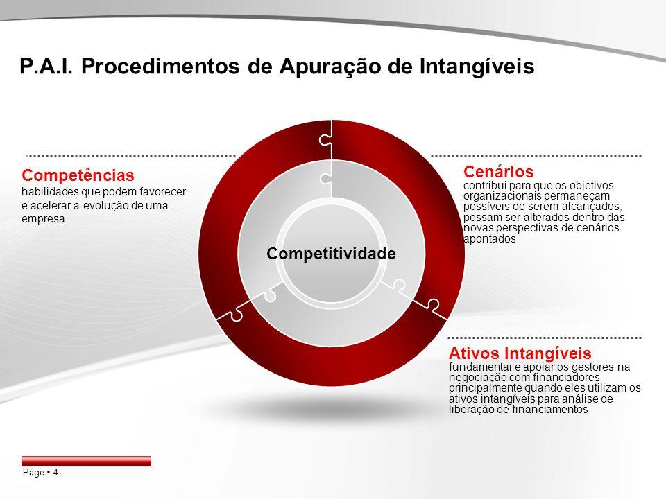 Ativos Intangíveis!! Modelo Grapeggia Modelo Rojo PAI Modelo Hoss