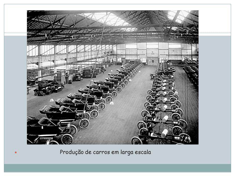 Produção de carros em larga escala