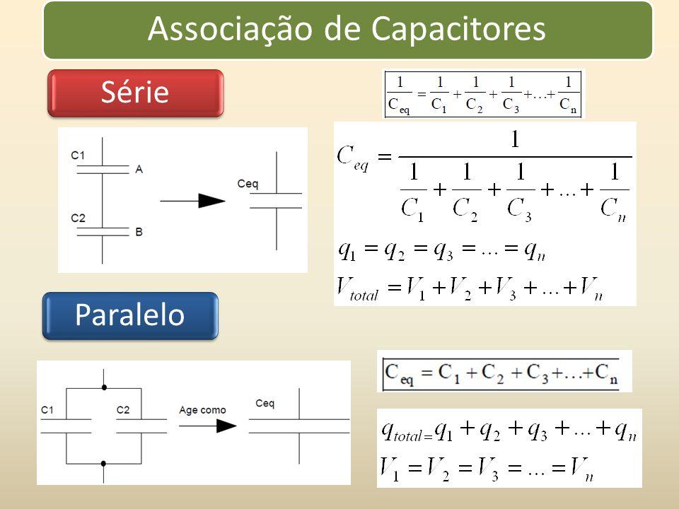 Associação de Capacitores SérieParalelo