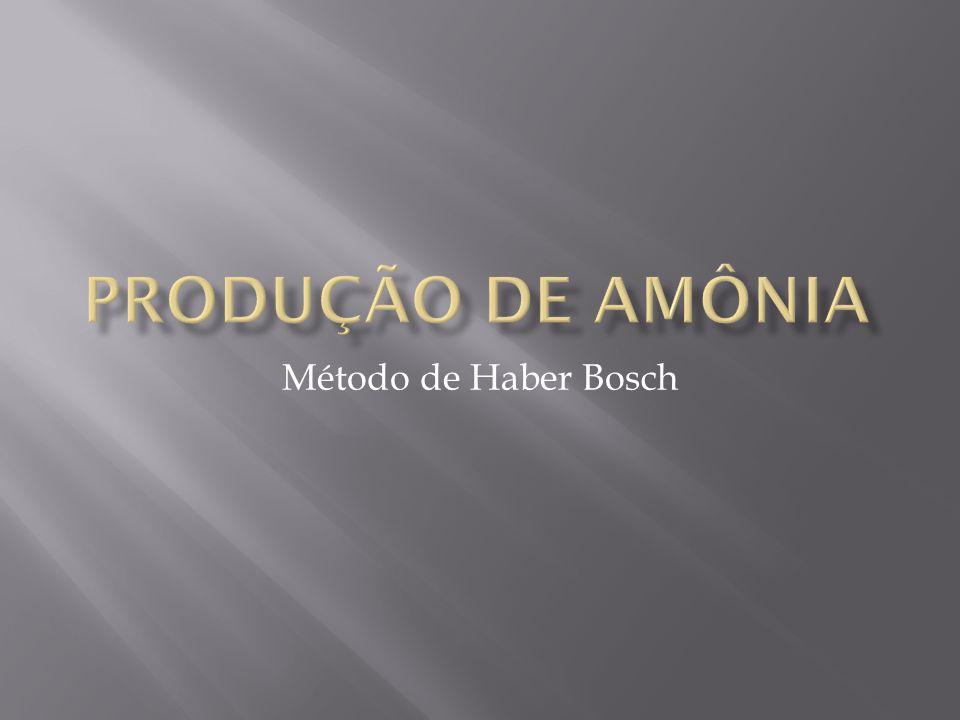 Método de Haber Bosch