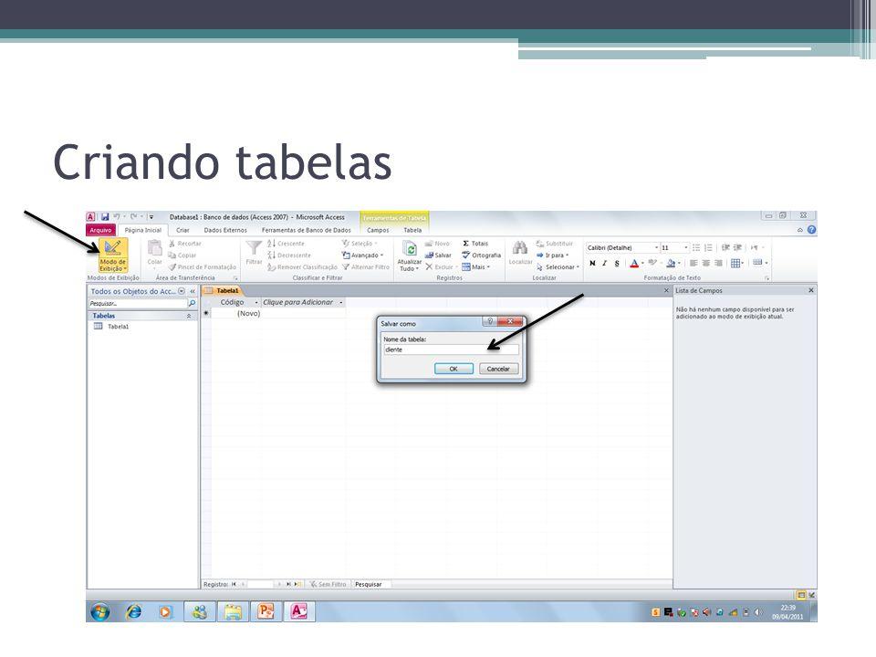 Tipos de Dados Tipo de dadosFunção TEXTO Textos ou combinações de textos e números.