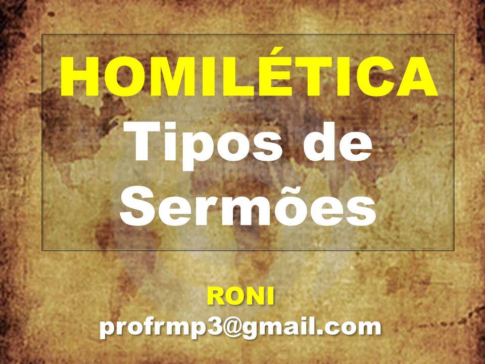 TIPOS DE SERMÕES I.TEXTUAL II.TEMÁTICO III.EXPOSITIVO I.TEXTUAL II.TEMÁTICO III.EXPOSITIVO