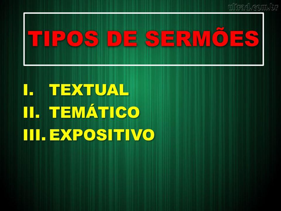 Exemplo TEMA: SATANÁS, NOSSO ARQUINIMIGO.