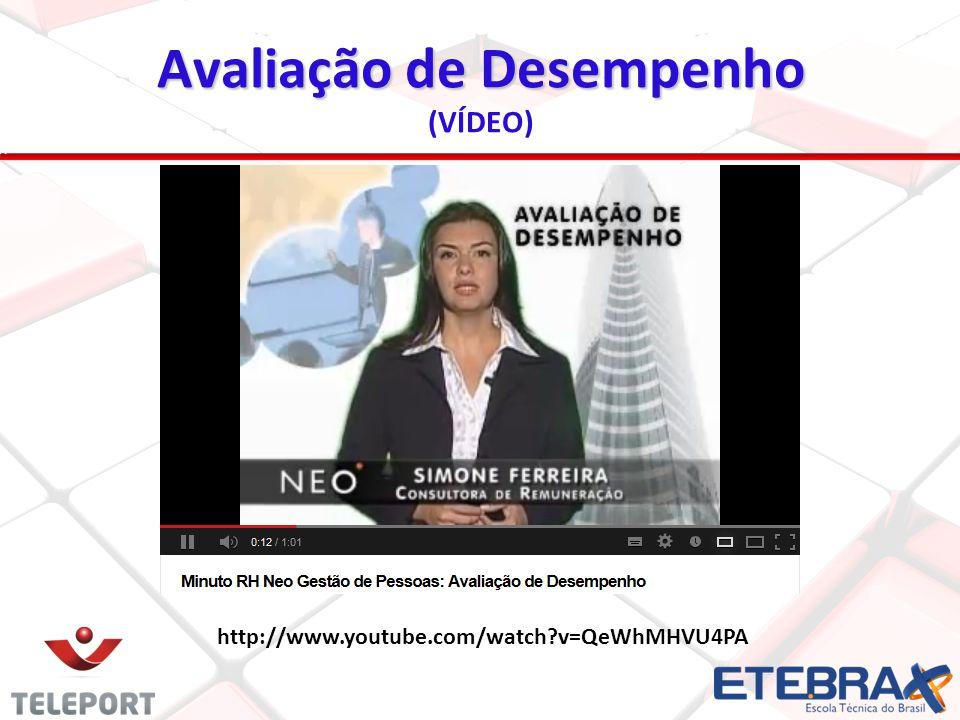 http://www.youtube.com/watch?v=QeWhMHVU4PA Avaliação de Desempenho (VÍDEO)