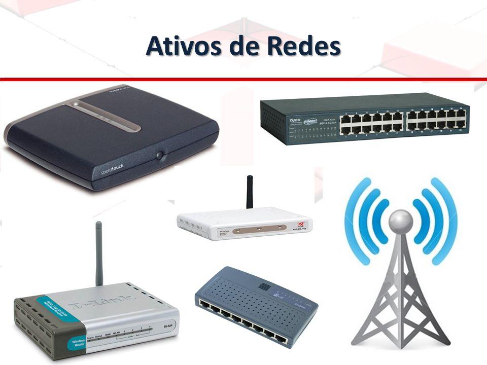 Introdução Na última aula, vimos os ativos de uma rede, ou seja, switches, hubs e outros.