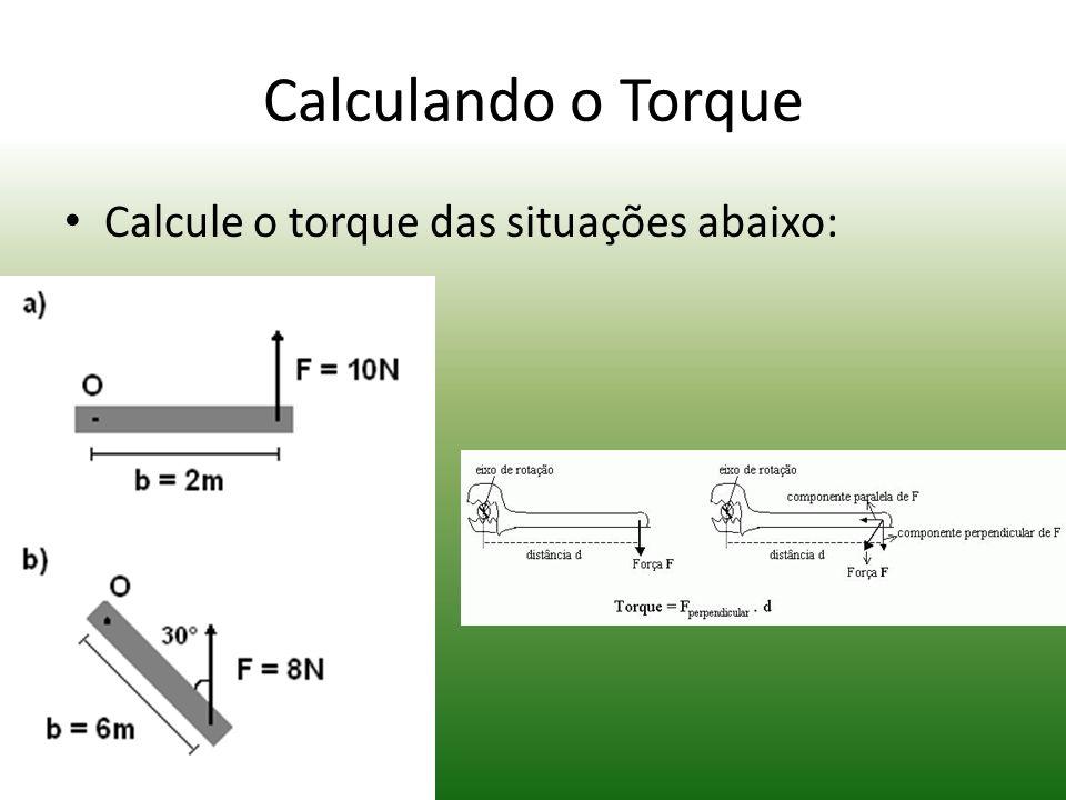 Conceito de Torque (táu) representa torque. É uma grandeza vetorial É uma grandeza que representa a rotação de um objeto (ou sistema) em torno do seu