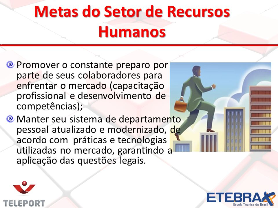 Entendendo Recursos Humanos Manter processos otimizados, com fluxos bem definidos e integrados ao Sistema de Gestão da Qualidade.