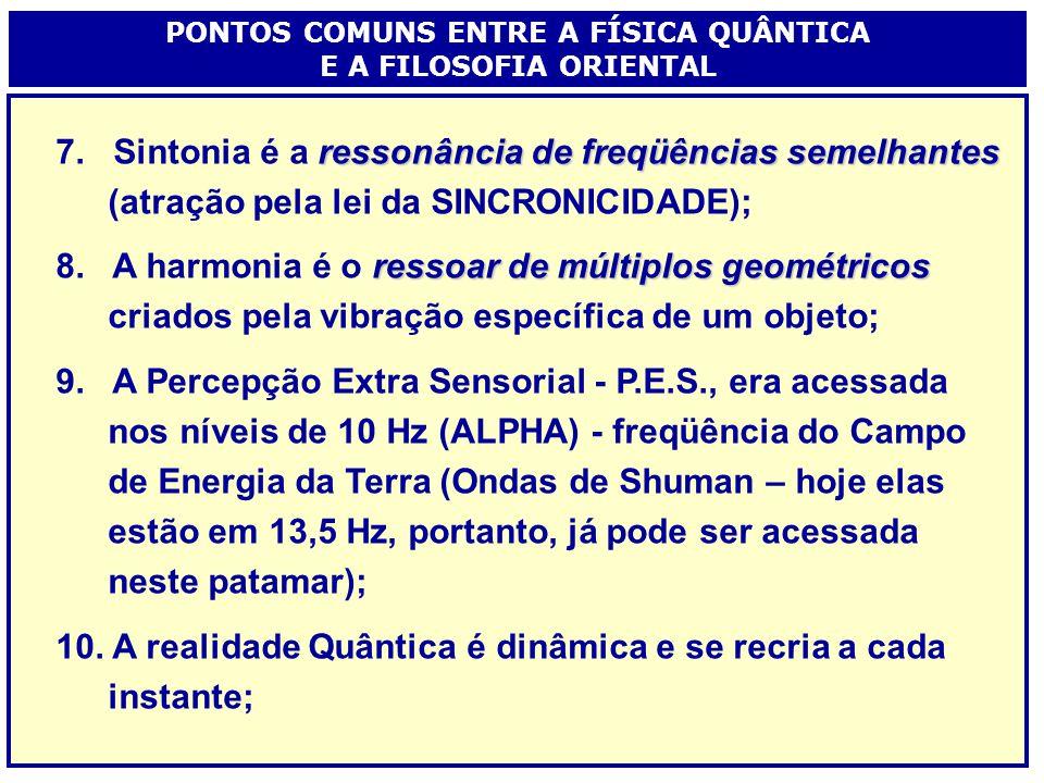 energia condensada 1.A matéria é energia condensada; 2.Os elétrons são partículas, ondas ou possibilidade de informação; vazio 3.O vazio é uma realida