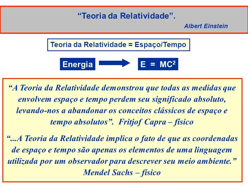 Teoria da Relatividade.