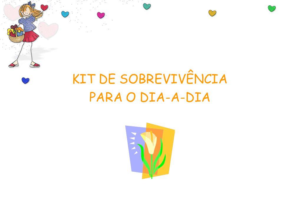Feito por Luana Rodrigues – luannarj@uol.com.br KIT DE SOBREVIVÊNCIA PARA O DIA-A-DIA