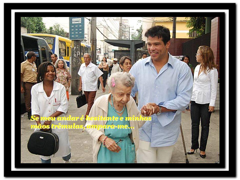 Mensagem de um idoso Transição automática ou clic para avançar