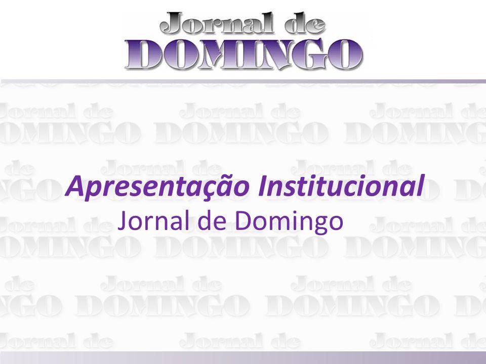 Apresentação Institucional Jornal de Domingo