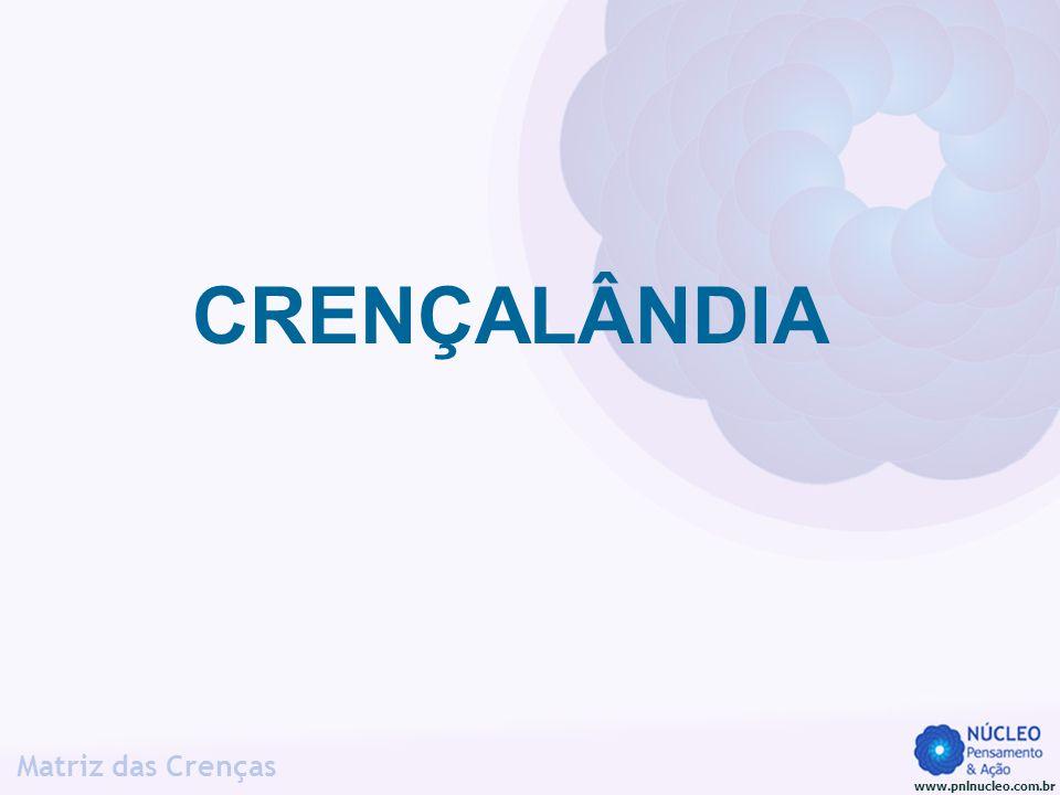www.pnlnucleo.com.br Matriz das Crenças O que é (o critério) para você.