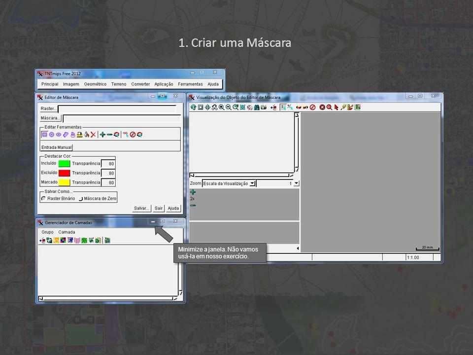 Clique no ícone (a esquerda) Limpar para desativar a ferramenta e a seguir no ícone Completo para visualizar toda imagem.