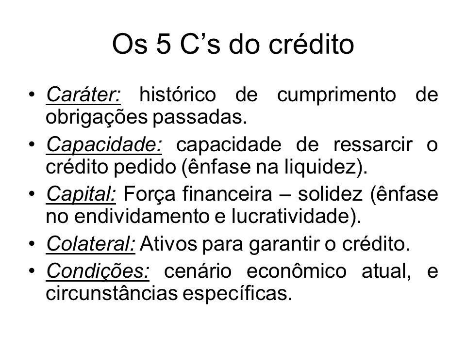 Administração de Duplicatas a receber Crédito: concessão de valor ou bem no presente, sob a promessa de pagamento futuro. O crédito deve ser visto com