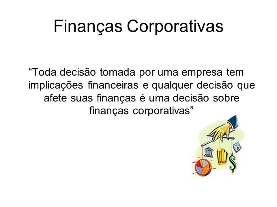 Áreas Tradicionais de Finanças Mercado de Capitais – Estuda a interação entre demanda e oferta de recursos financeiros nos diversos mercados financeir