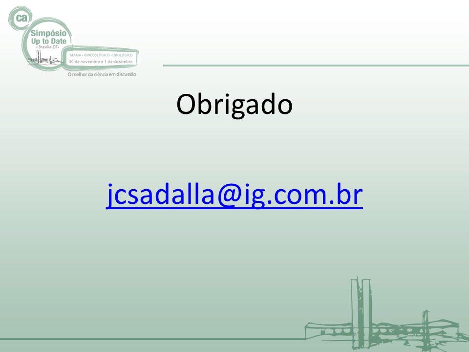 Obrigado jcsadalla@ig.com.br