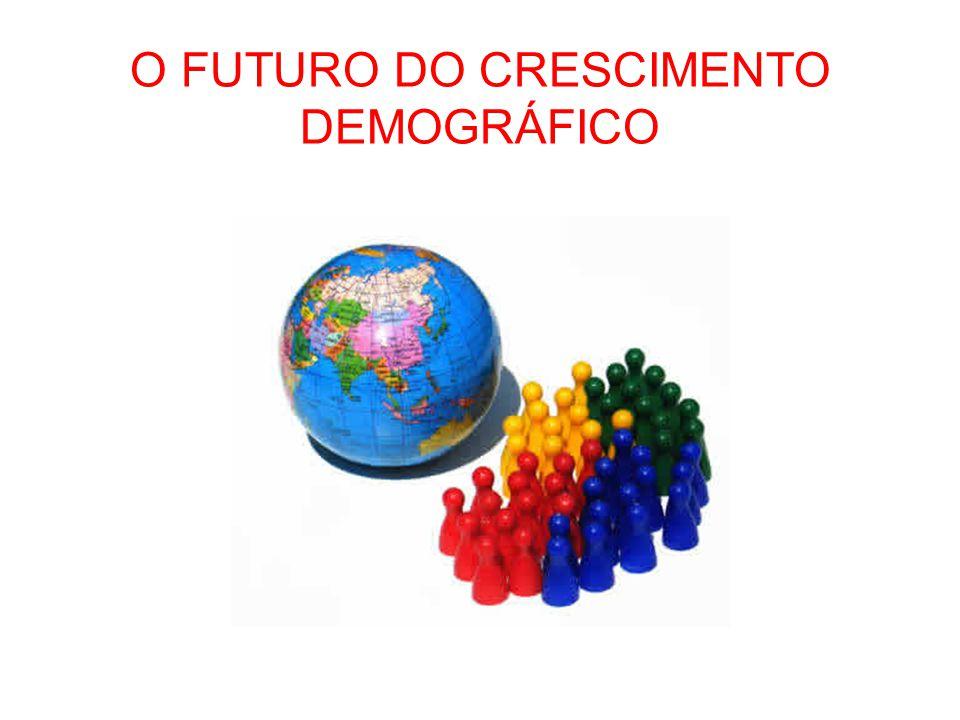 O FUTURO DO CRESCIMENTO DEMOGRÁFICO