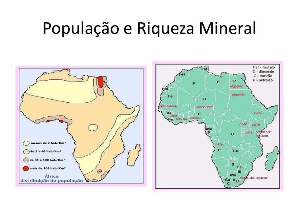 População e Riqueza Mineral