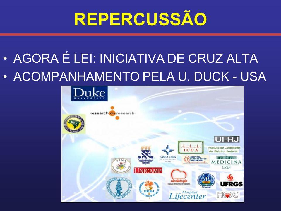 REPERCUSSÃO AGORA É LEI: INICIATIVA DE CRUZ ALTA ACOMPANHAMENTO PELA U. DUCK - USA