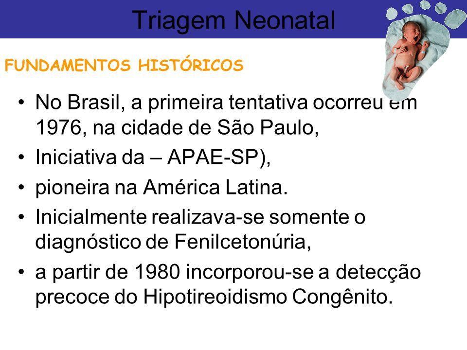 No Brasil, a primeira tentativa ocorreu em 1976, na cidade de São Paulo, Iniciativa da – APAE-SP), pioneira na América Latina. Inicialmente realizava-