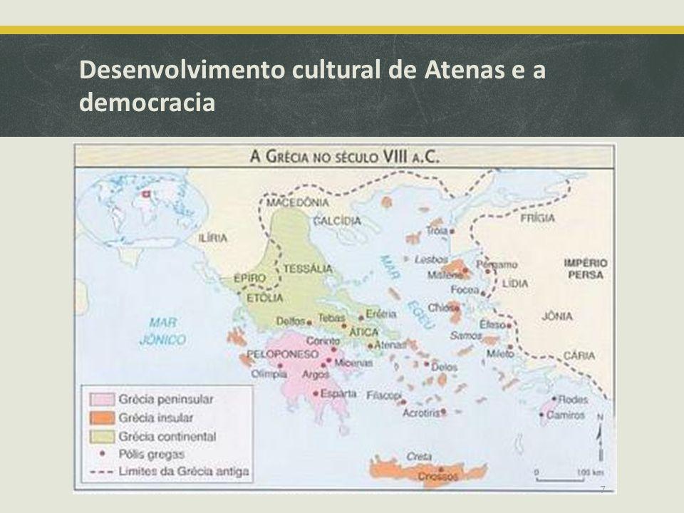 Desenvolvimento cultural de Atenas e a democracia 7