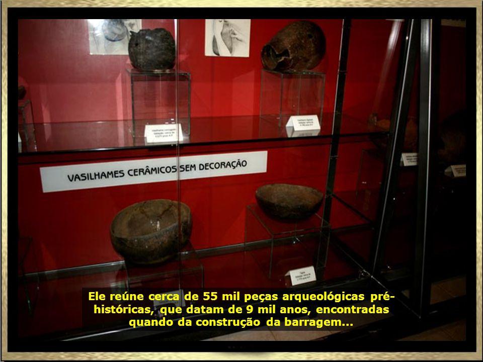 Em Canindé do São Francisco, anexo à Barrabem do Xingó, tem o Museu Arqueológico, administrado pela Universidade Federal de Sergipe...
