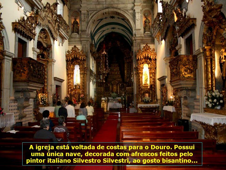 Igreja do Corpo Santo de Massarelos, construída a partir de 1776 para substituir a velha e arruinada Ermida da Confraria das Almas do Corpo Santo de M